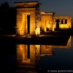 Templo de Debod de noche