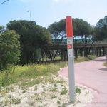 Marcador de punto kilométrico