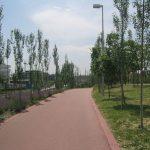 Anillo ciclista a su paso por Hortaleza