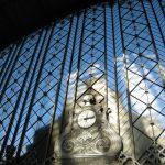 Reloj en la estación de Atocha