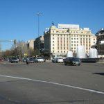 Plaza de Colón y Paseo de la Castellana