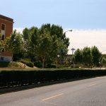 Faro de Moncloa desde la Universidad