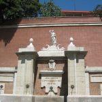 Fuente de Diana Cazadora en la calle Segovia