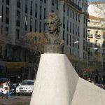 Monumento a Goya en la calle Goya