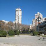 Vista de la Plaza de España
