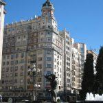 Plaza España y final de Gran Vía