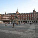 Anocheciendo en la Plaza Mayor