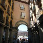 Arco en la Plaza Mayor