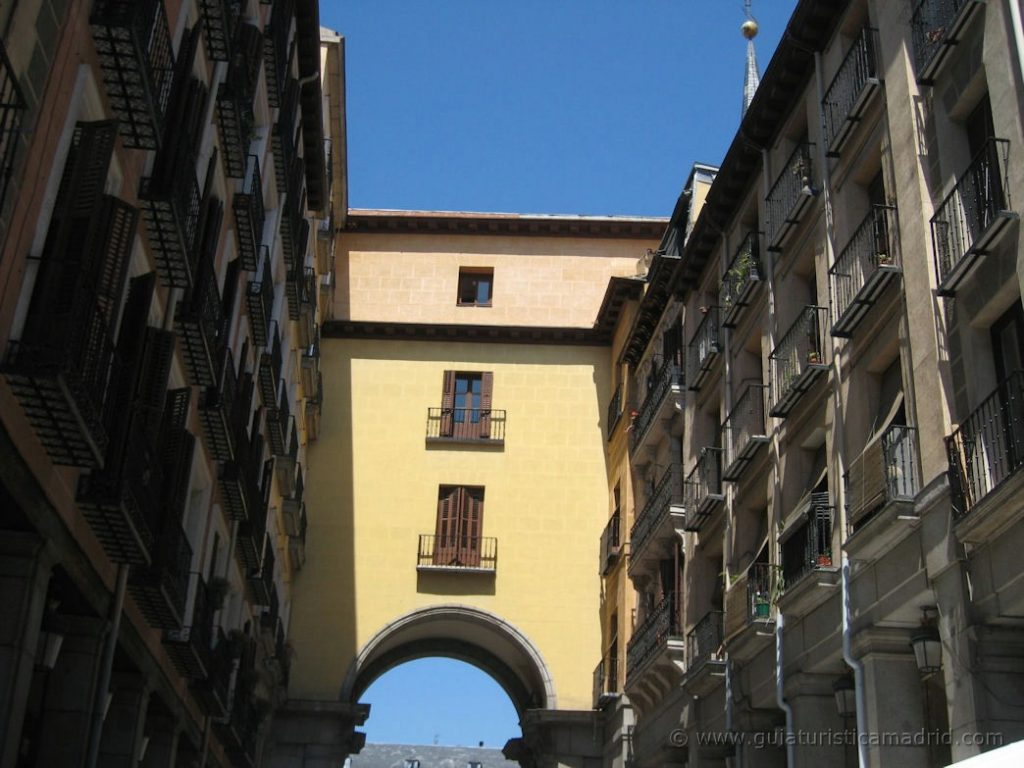 Arco de entrada a la Plaza Mayor