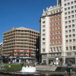 Plaza España e inicio de calle Princesa