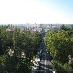 Vistas desde el puente de Segovia