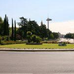 Vista de Moncloa desde la Ciudad Universitaria