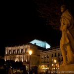 Plaza de Oriente de noche