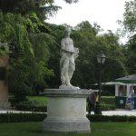 Estatua en el Retiro