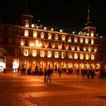 Plaza Mayor de noche