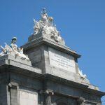 Detalle de la Puerta de Toledo