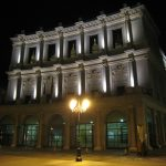 Teatro Real de noche