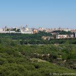 Palacio Real y Catedral de la Almudena desde la Casa de Campo