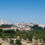 Centro de Madrid desde la Casa de Campo