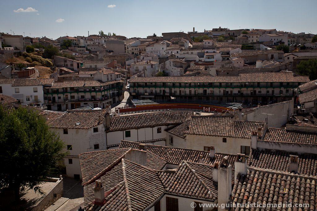 Chinchón desde el mirador de la Plaza del Palacio