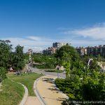 Vistas desde el Puente monumental de Arganzuela