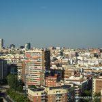 Azca y Torre Picasso desde el Faro de Moncloa