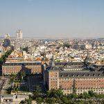 Ejercito del aire y Palacio Real desde el Faro de Moncloa