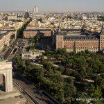 Arco de la Victoria y Plaza España desde el Faro de Moncloa