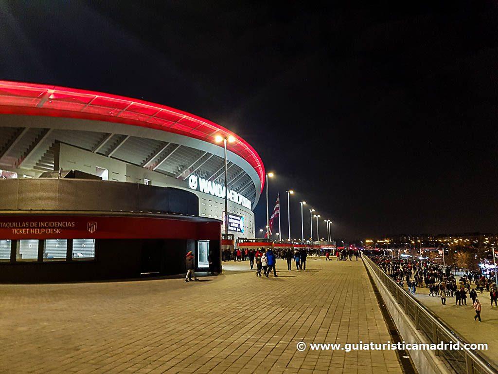 Exterior del Wanda Metropolitano