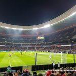 Viendo al Atlético de Madrid en el Wanda Metropolitano