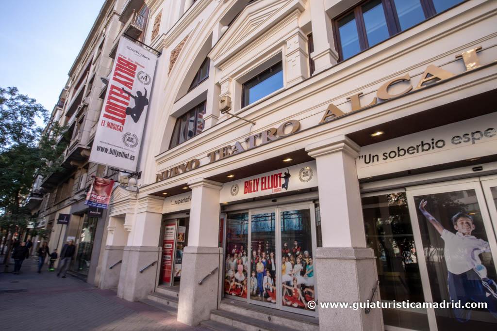Entrada al Nuevo Teatro Alcalá
